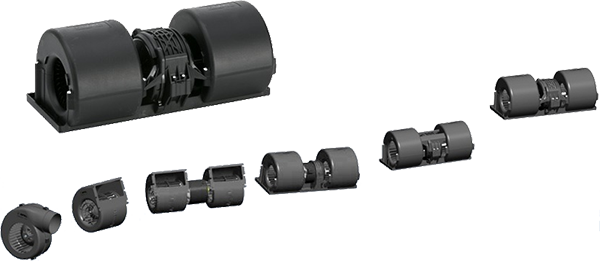 SPAL - Turbinas simples e dupluas de 12v e 24v