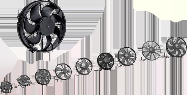 SPAL - Ventiladores de 12v e 24v